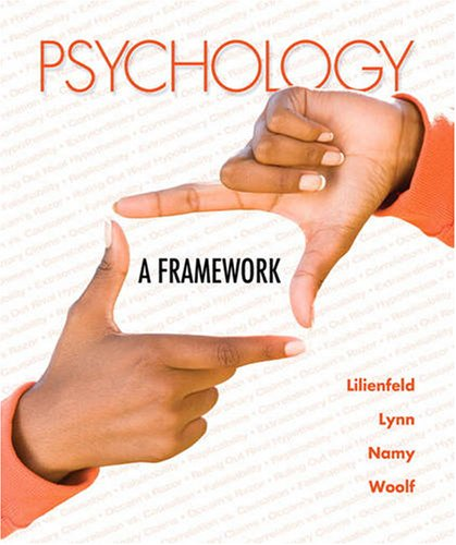 Psychology A Framework for Everyday Thinking  2010 edition cover