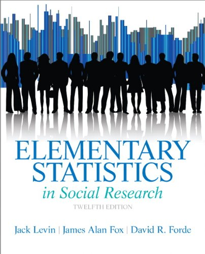 Elementary Statistics in Social Research  12th 2014 edition cover