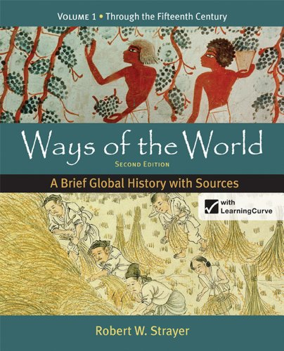 Ways of the World A Brief Global History with Sources 2nd 2012 edition cover