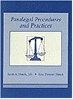 Paralegal Procedures and Practices  1st 1993 9780314013484 Front Cover