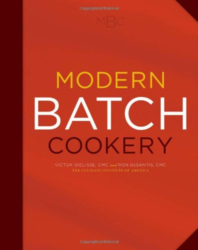 Modern Batch Cookery   2010 edition cover