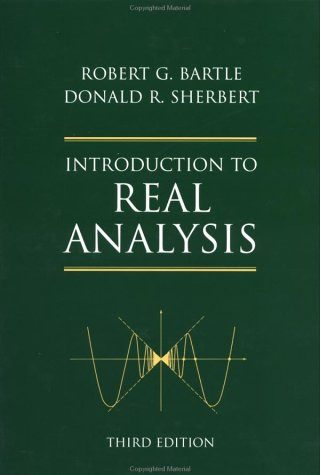 Introduction to Real Analysis  3rd 2000 (Revised) edition cover