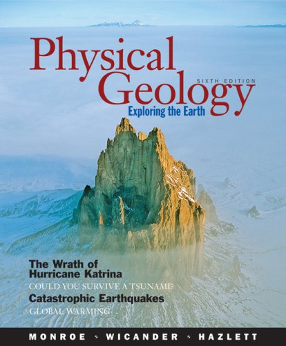 Physical Geology Exploring the Earth 6th 2007 edition cover