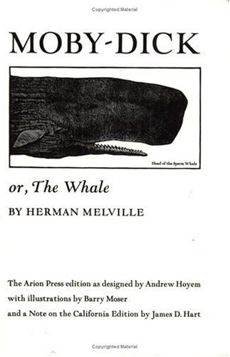 Moby Dick Or, the Whale Reprint  edition cover