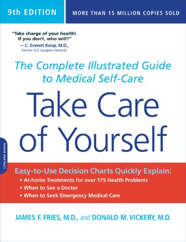 Take Care of Yourself The Complete Illustrated Guide to Medical Self-Care 9th edition cover