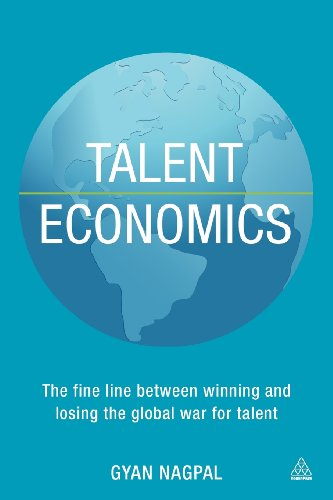 Talent Economics The Fine Line Between Winning and Losing the Global War for Talent  2013 9780749468484 Front Cover