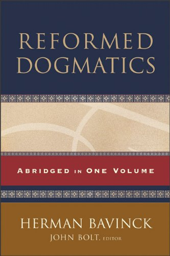 Reformed Dogmatics Abridged in One Volume  2011 edition cover