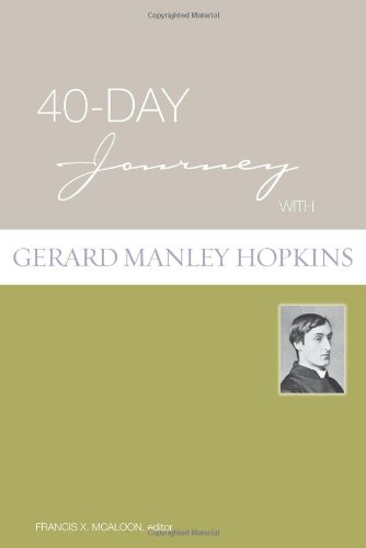 40-Day Journey with Gerard Manley Hopkins   2009 edition cover