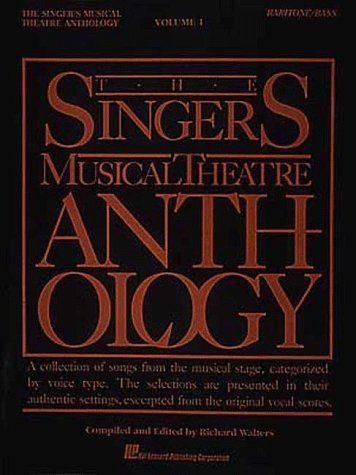Singer's Musical Theatre Anthology - Baritone/Bass  N/A edition cover