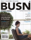 BUSN 6   >INSTRS.ED<                    N/A edition cover