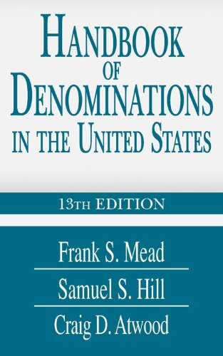 Handbook of Denominations in the United States  13th 2010 (Handbook (Instructor's)) edition cover