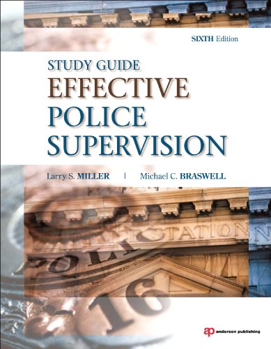 Effective Police Supervision  6th 2010 (Revised) edition cover