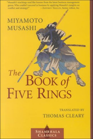 Book of Five Rings   2000 edition cover