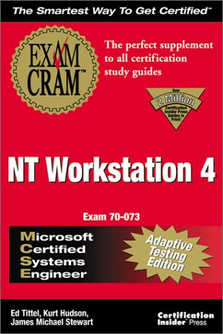 MCSE NT Workstation 4 Exam Cram N/A 9781576104484 Front Cover
