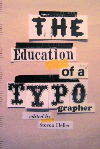 Education of a Typographer   2004 edition cover