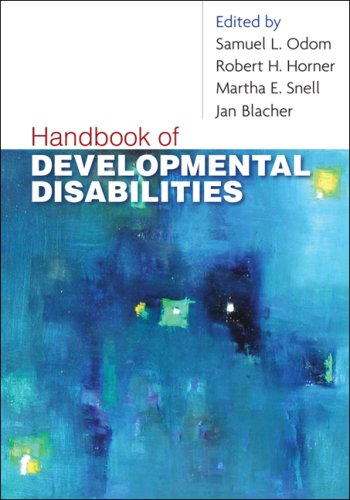 Handbook of Developmental Disabilities   2009 edition cover