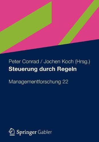 Steuerung Durch Regeln   2012 9783834943484 Front Cover