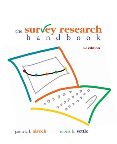 Survey Research Handbook  3rd 2004 (Revised) edition cover