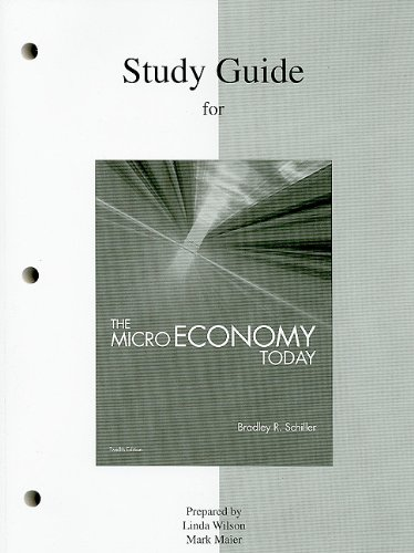 Study Guide for Microeconomics  12th 2010 edition cover
