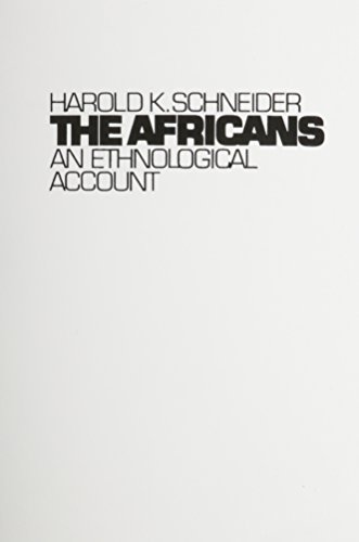 Africans An Ethnological Account 1st 1981 edition cover