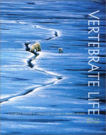 Vertebrate Life  6th 2002 edition cover