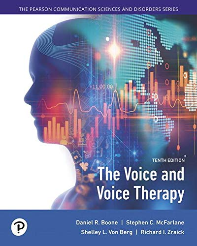 Voice and Voice Therapy  10th 2020 9780134894485 Front Cover