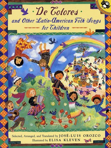 De Colores and Other Latin American Folksongs for Children  Abridged  edition cover