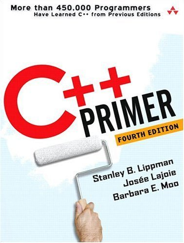 C++ Primer  4th 2005 (Revised) edition cover