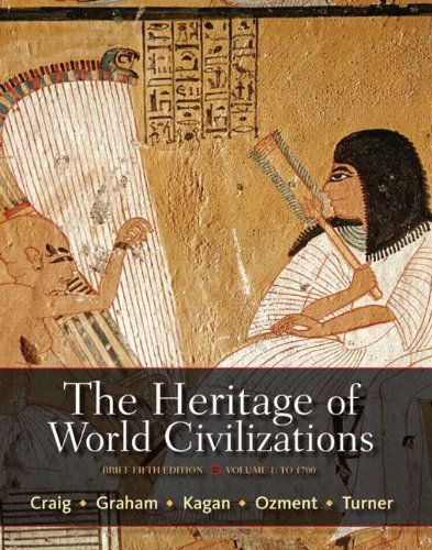 Heritage of World Civilizations  5th 2012 (Revised) edition cover