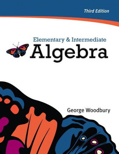 Elementary and Intermediate Algebra  3rd 2012 (Revised) edition cover
