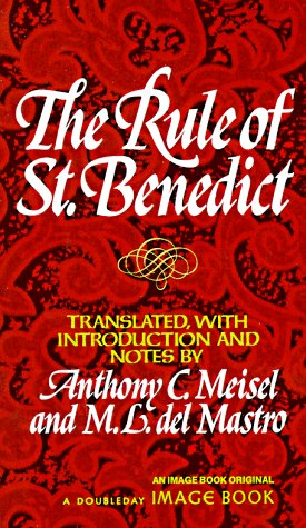 Rule of Saint Benedict   1975 edition cover