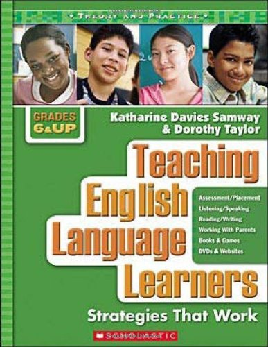 Teaching English Language Learners Strategies That Work  2008 9780439926485 Front Cover