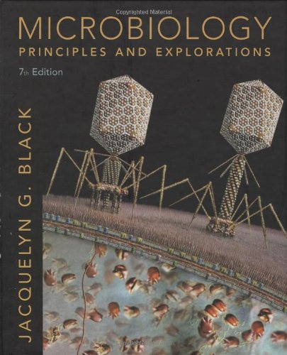 Microbiology Principles and Explorations 7th 2008 edition cover