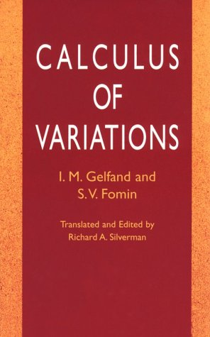Calculus of Variations   2000 (Unabridged) edition cover