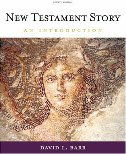 New Testament Story An Introduction 4th 2009 (Revised) edition cover