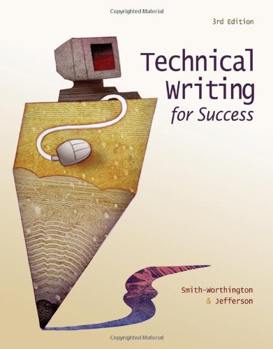 Technical Writing for Success  3rd 2011 9780538450485 Front Cover