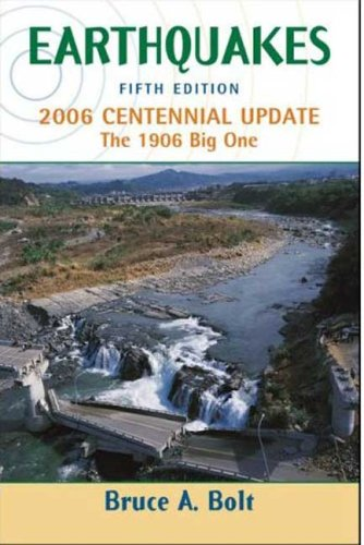 Earthquakes 2006  5th 2006 (Revised) edition cover
