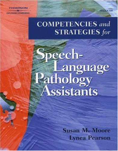 Competencies and Strategies for Speech-Language Pathologist Assistants   2003 edition cover