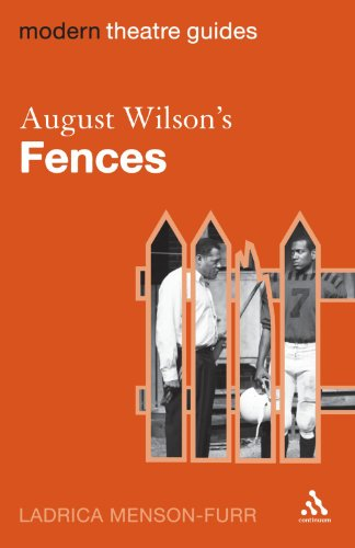 August Wilson's Fences   2008 9780826496485 Front Cover
