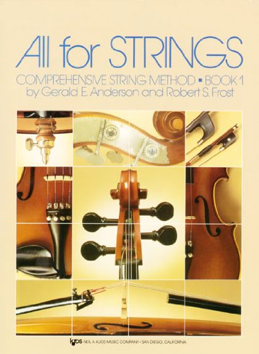 All for Strings Theory No. 1 : Cello Workbook edition cover