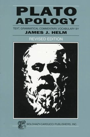 Plato Apology  1999 (Revised) edition cover