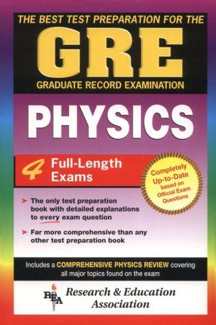 GRE Physics The Best Test Preparation for the Graduate Record Examination  2003 (Revised) edition cover