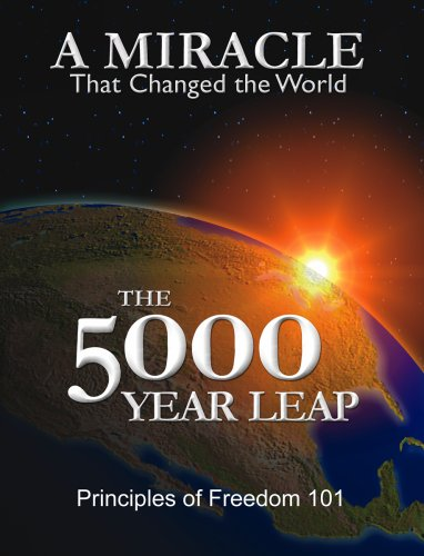 5000 Year Leap A Miracle That Changed the World  2006 edition cover