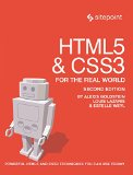 HTML5 and CSS3 for the Real World  2nd 2015 edition cover
