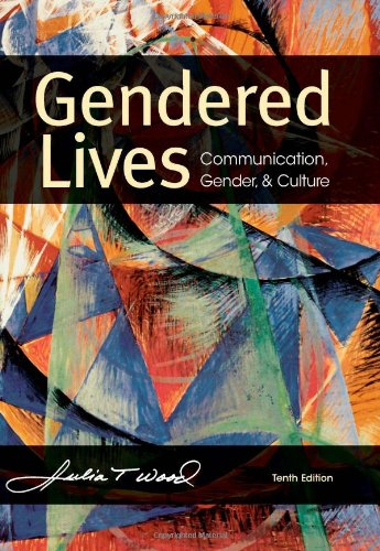 Gendered Lives  10th 2013 9781111346485 Front Cover