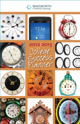 College Success Planner 2012-2013  11th 2013 9781133311485 Front Cover