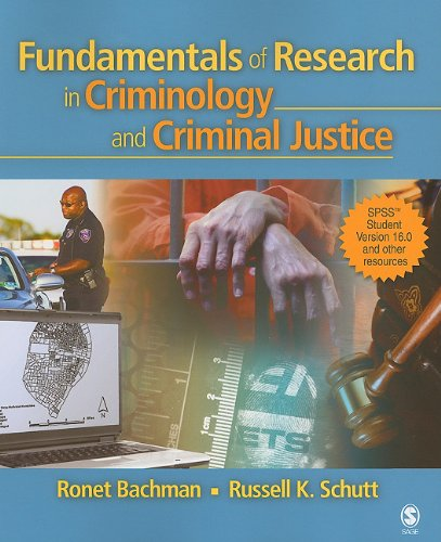 Fundamentals of Research in Criminology and Criminal Justice Includes SPSS Student Version 16. 0 and Other Resources  2008 edition cover