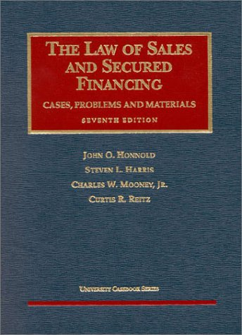 Sales and Secured Financing  7th 2002 (Revised) edition cover
