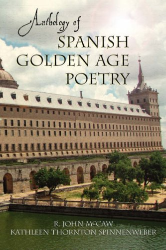 Anthology of Spanish Golden Age Poetry  N/A edition cover