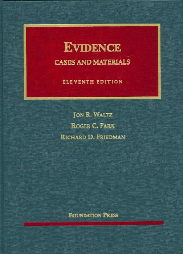 Evidence, Cases and Materials  11th 2009 (Revised) edition cover